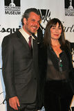 Danny Huston,Anjelica Huston Royalty Free Stock Images