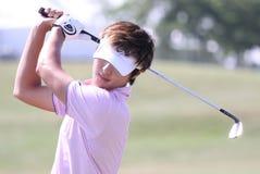 Danny Lee bij golf het Frans opent 2010 Stock Afbeelding