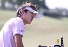 Danny Lee bij golf het Frans opent 2010 Stock Fotografie