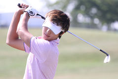 Danny Lee en el francés del golf abre 2010 Imagen de archivo