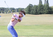 Danny Lee at golf French Open 2010 Stock Photography
