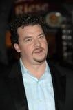 Danny McBride ?acima na premier de Los Angeles no ar?, teatro da vila de Mann, Westwood, CA 11-30-09 imagem de stock