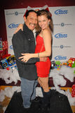 Danny Trejo,Bridgetta Tomarchio. Danny Trejo and Alicia Arden at Bridgetta Tomarchio B-Day Bash and Babes in Toyland Toy Drive, Lucky Strike, Hollywood, CA. 12 stock image