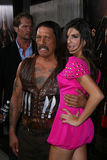 Danny Trejo,Electra Avellan Royalty Free Stock Photos