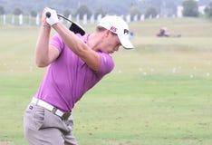 Danny Willett bij golf het Frans opent 2010 Royalty-vrije Stock Foto