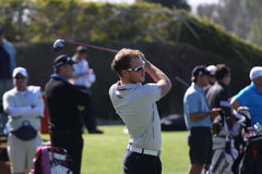 Danny Willett a golf aperto, Marbella di Andalusia Fotografie Stock
