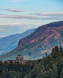 Dano de fogo no desfiladeiro de Colômbia, Oregon Foto de Stock