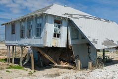 Dano de Hurircane Foto de Stock Royalty Free