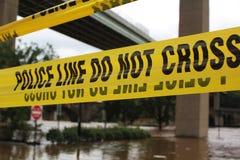 Dano de inundação foto de stock royalty free