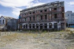 Dano de terramoto Christchurch da terra Nova Zelândia Fotos de Stock Royalty Free