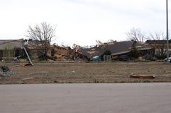 Dano do furacão Fotos de Stock