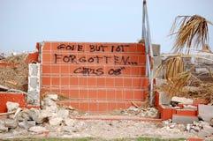 Dano do furacão Imagens de Stock