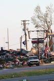 Dano do furacão de Ringgod Geórgia Imagens de Stock Royalty Free