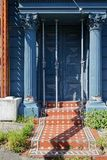 Dano do terremoto, Lyttelton, Christchurch, Nova Zelândia fotos de stock