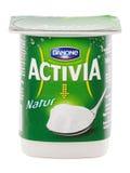Danone Atctivia Natur Стоковые Фотографии RF