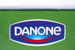 Danone logo Zdjęcie Royalty Free