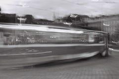 Dans à la précipitation Photographie stock libre de droits