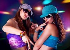 Dans 2 van de disco stock fotografie