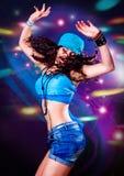 Dans 7 van de disco Stock Afbeeldingen
