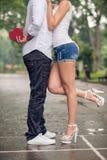 Dans-amour Photographie stock libre de droits