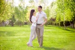 Dans-amour Photo stock