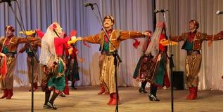 Dans av krigare Royaltyfri Bild