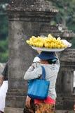 2012 dans Bali, †de BALI «17 octobre : Femmes non identifiées Ca de village Images stock