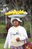 2012 dans Bali, †de BALI «17 octobre : Femmes non identifiées Ca de village Photographie stock