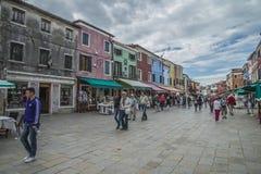 Dans Burano Image stock
