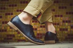 Dans in de nieuwe elegante schoenen Royalty-vrije Stock Fotografie
