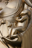 Dans des bras de Bouddha photo libre de droits