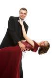 Dans des couples d'amour Image libre de droits