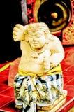 Dans des poupées en pierre de style asiatique Photo libre de droits