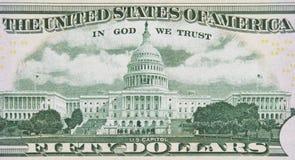 Dans Dieu nous faisons confiance Images libres de droits