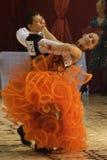 dans för 5 balsal Arkivbilder