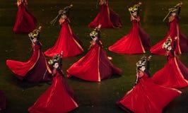 Dans för domstol för geigermätaredans 1-Classical arkivbilder