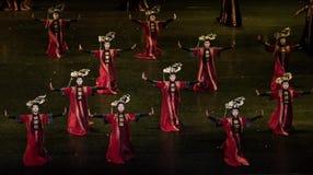 Dans för domstol för geigermätaredans 4-Classical arkivbilder