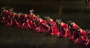 Dans för domstol för geigermätaredans 5-Classical royaltyfri foto
