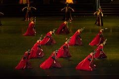 Dans för domstol för geigermätaredans 8-Classical arkivfoton