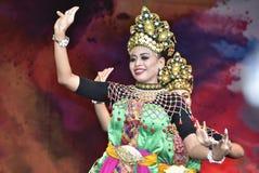 Dans för Mak yong Royaltyfri Foto