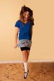 Dans för tonårs- flicka Arkivbilder