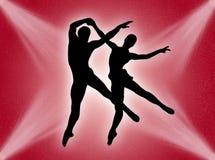 Dans in het licht Royalty-vrije Stock Foto