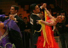 Dans, IDSF ST Royalty-vrije Stock Afbeelding