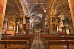 Dans l'église. Photo libre de droits