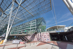 Dans l'aéroport de Munich Image libre de droits