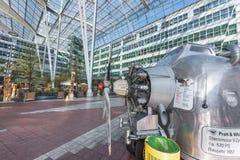 Dans l'aéroport de Munich Photographie stock libre de droits