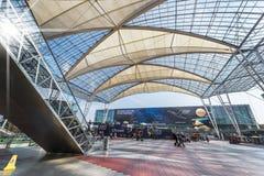 Dans l'aéroport de Munich Images libres de droits