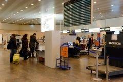 Dans l'aéroport de Sheremetyevo de Moscou Image libre de droits