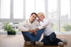 Dans l'amour Photos libres de droits