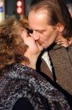 Dans l'amour. Image libre de droits